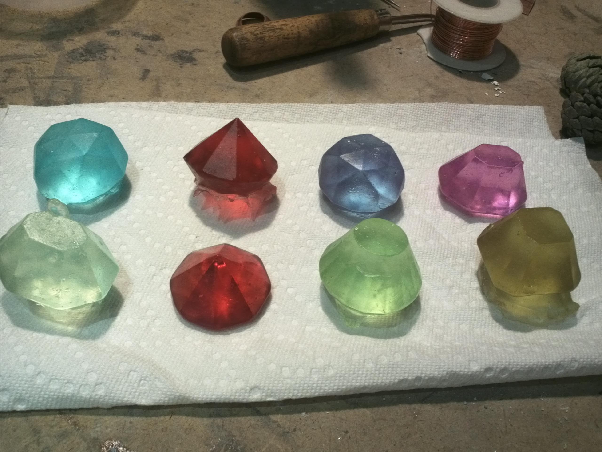 glass casting workshop nanotopia. Black Bedroom Furniture Sets. Home Design Ideas