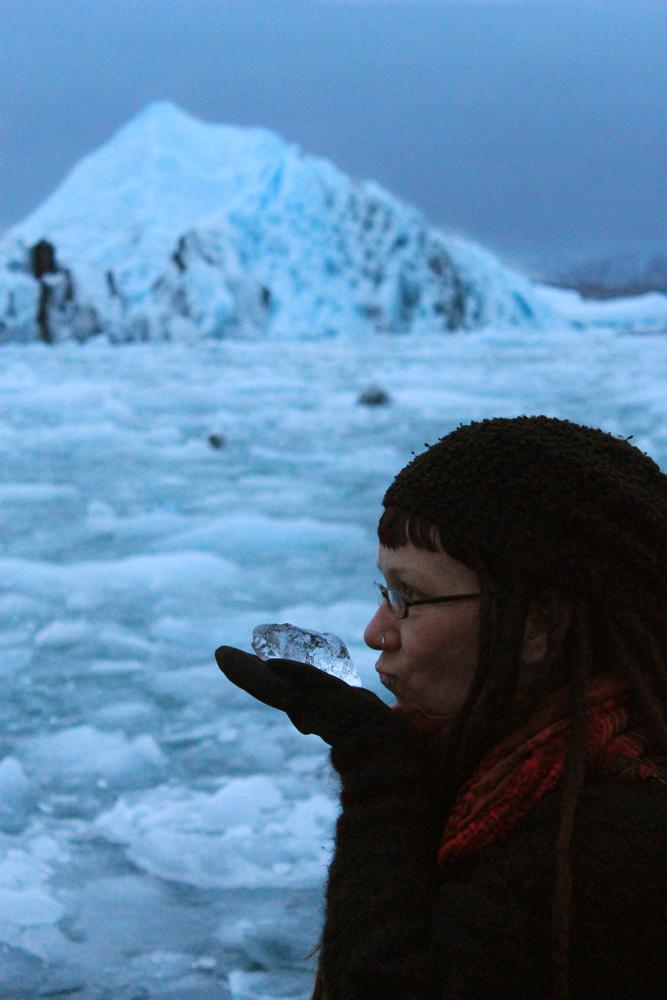conversations with ice at Jökulsárlón