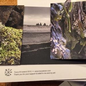 Backer postcard sets